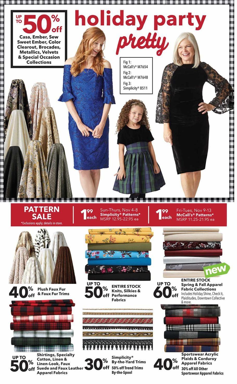 Joann Fabrics Pre Black Friday 2018 Ads Scan Deals And Sales See The Joann Fabrics Pre Black Friday Ad 2018 At 101blackf Joann Fabrics Pre Black Friday Fabric