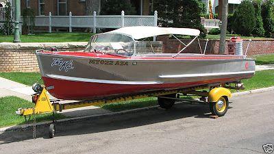Classic Original 57 Crestliner Voyager 18 Convertible Ok It S