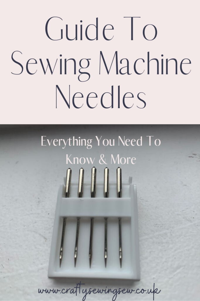 Sewing Machine Needles - How To Find The Right One For ...