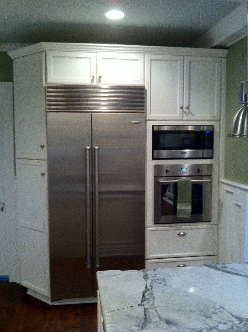 Refrigerator And Wall Oven In Same Unit Oven Wall Unit Wall Unit Twin Wall Bed