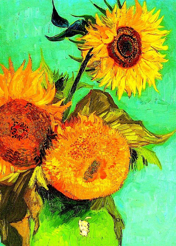 Sunflowers // Vincent Van Gogh