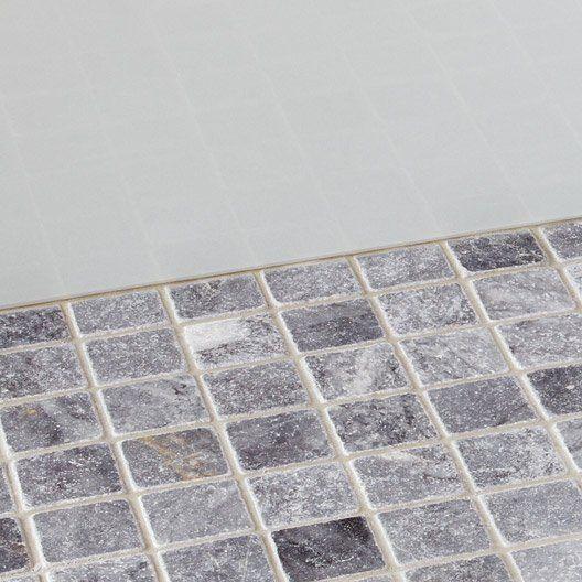 Mosaïque Mineral marbre ARTENS, noir, 48x48 cm Maison Pinterest