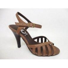 749518b60 Sandália em couro Tabaco | La Vile- Calçados nº 30 ao 33 | Pinterest ...