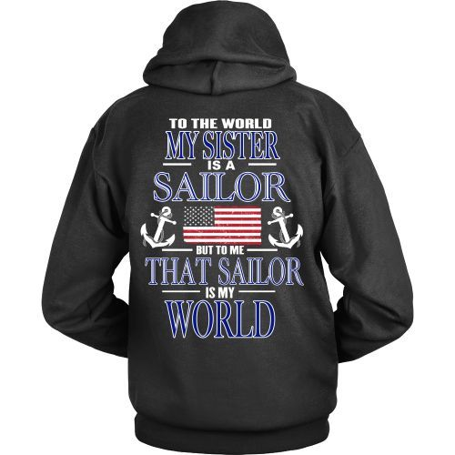 To the world my sister is a sailor -Back