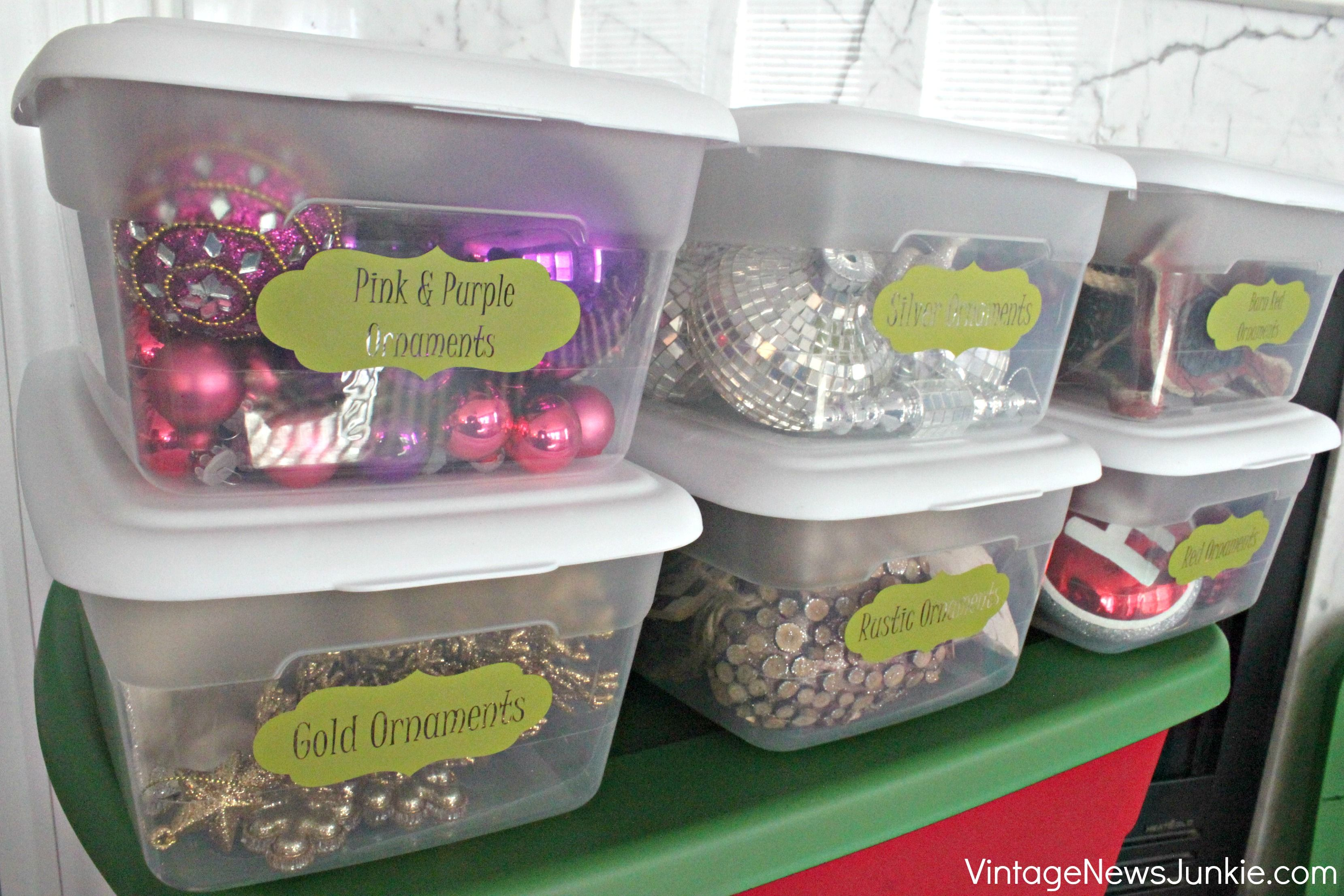 Holiday Decoration Storage Ideas Part - 16: Christmas Ornament Storage
