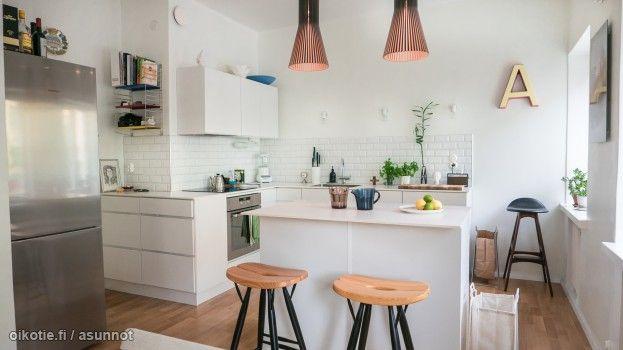 Myytävät asunnot, Harjutori 12, 00500 Helsinki #oikotieasunnot #keittiö #kitchen