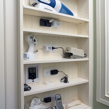 Charging Station Laundry Room Design Interior Remodel Pantry
