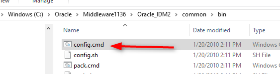 Step by step installation of Oracle Access Management (OAM