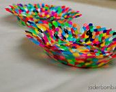 Beaded Bowls - HomemadeBowls- Perler Beads