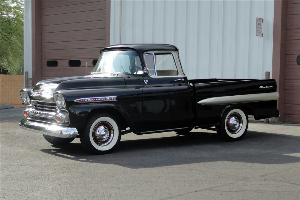 Pin by IronRoseMetalArts on Project list my 59\' Chevy Apache ...