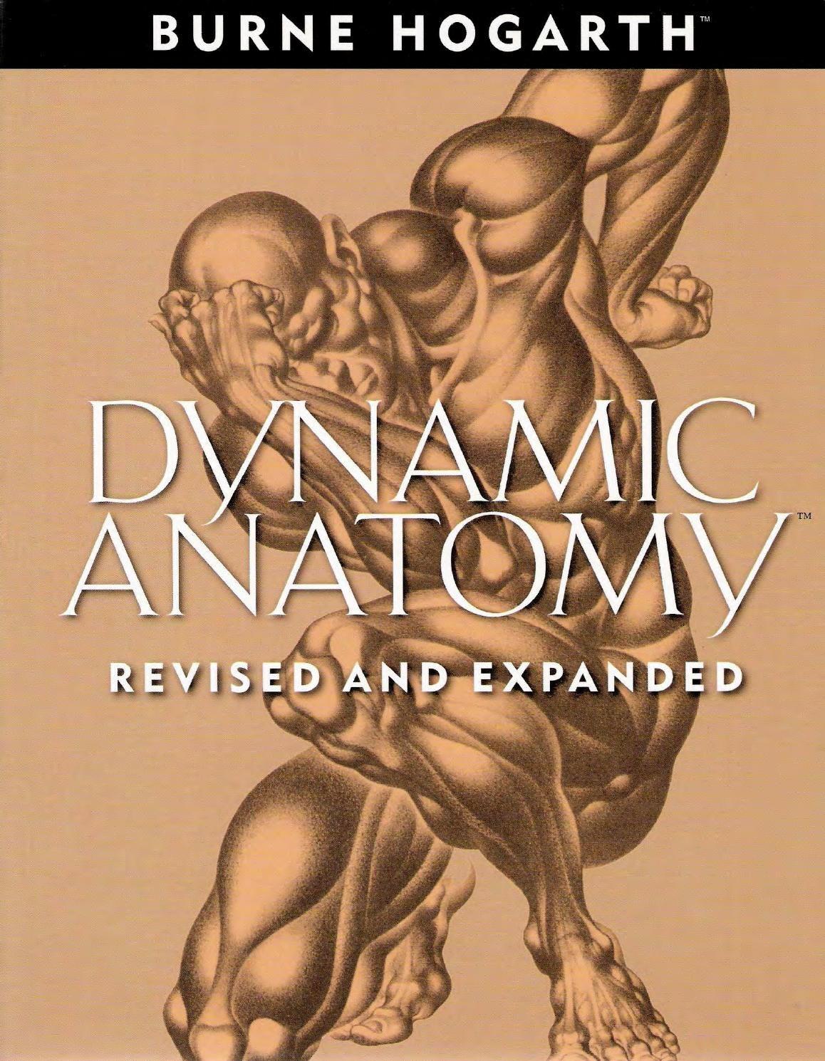 Dynamic Anatomy - Burne Hogarth Best anatomy | CG | Cuerpo