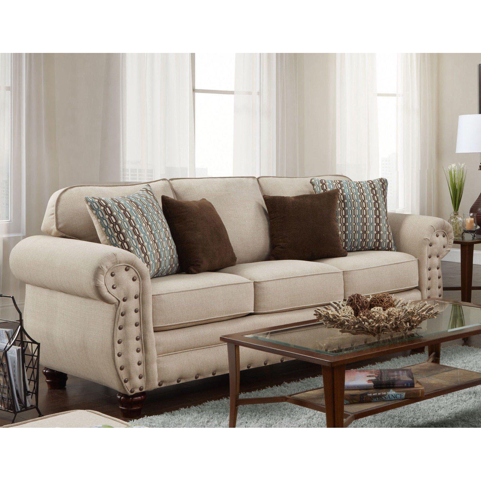 American Furniture Classics Abington Sand Sofa Living Room Sets