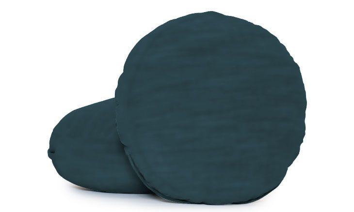 Decorative Round Pillows (Set of 2)