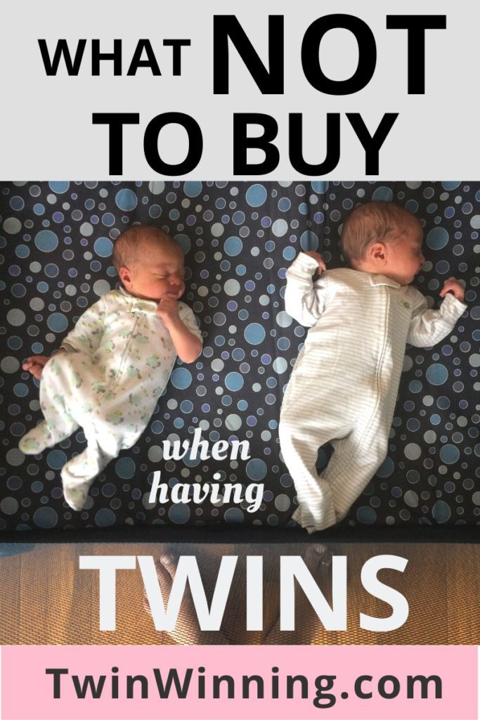 What NOT To Buy When Having Twins - Twin Winning