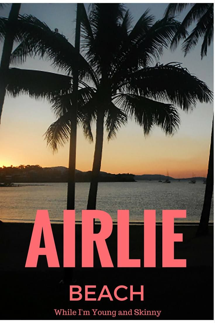 Airlie Beach Sunset During Aussie Winter Read About My Time Dancing In Bars There On