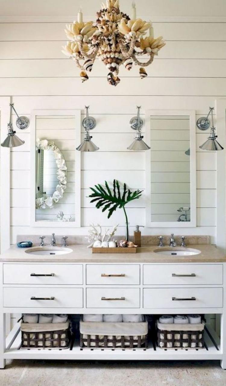 90+ Best Inspire Coatstal Nautical Bathroom Design & Decor ideas ...