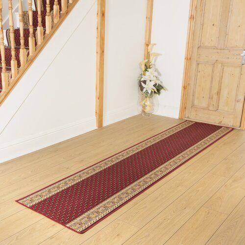 Innen-/Außenteppich Acree in Rot Astoria Grand Teppichgröße: Läufer 100 x 420 cm