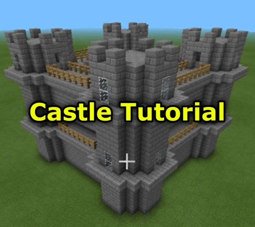 Minecraft Pocket Edition How To Build A Castle Minecraft