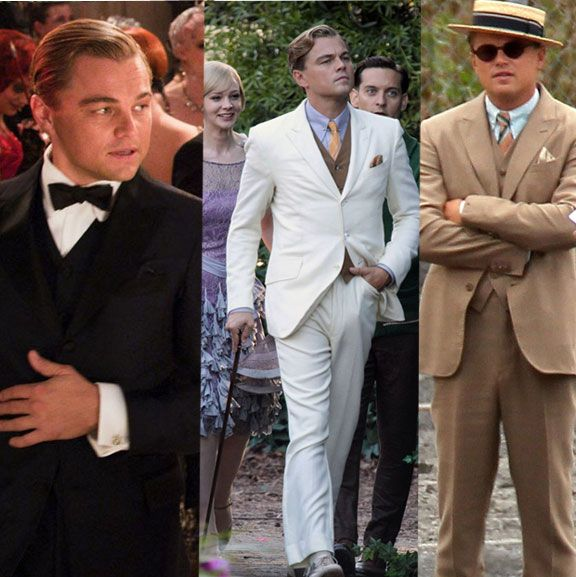 di caprio great gatsby brooks brothers