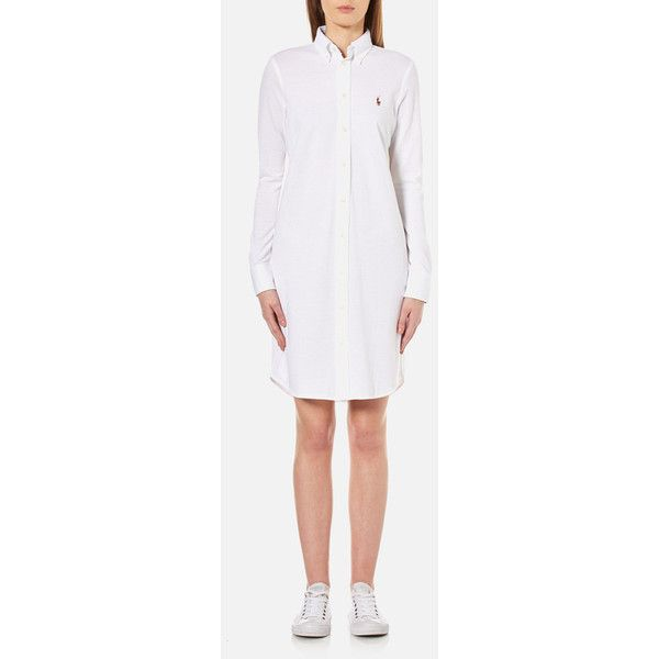 Polo Ralph Lauren Women's Oxford Shirt Dress - White ($185 ...