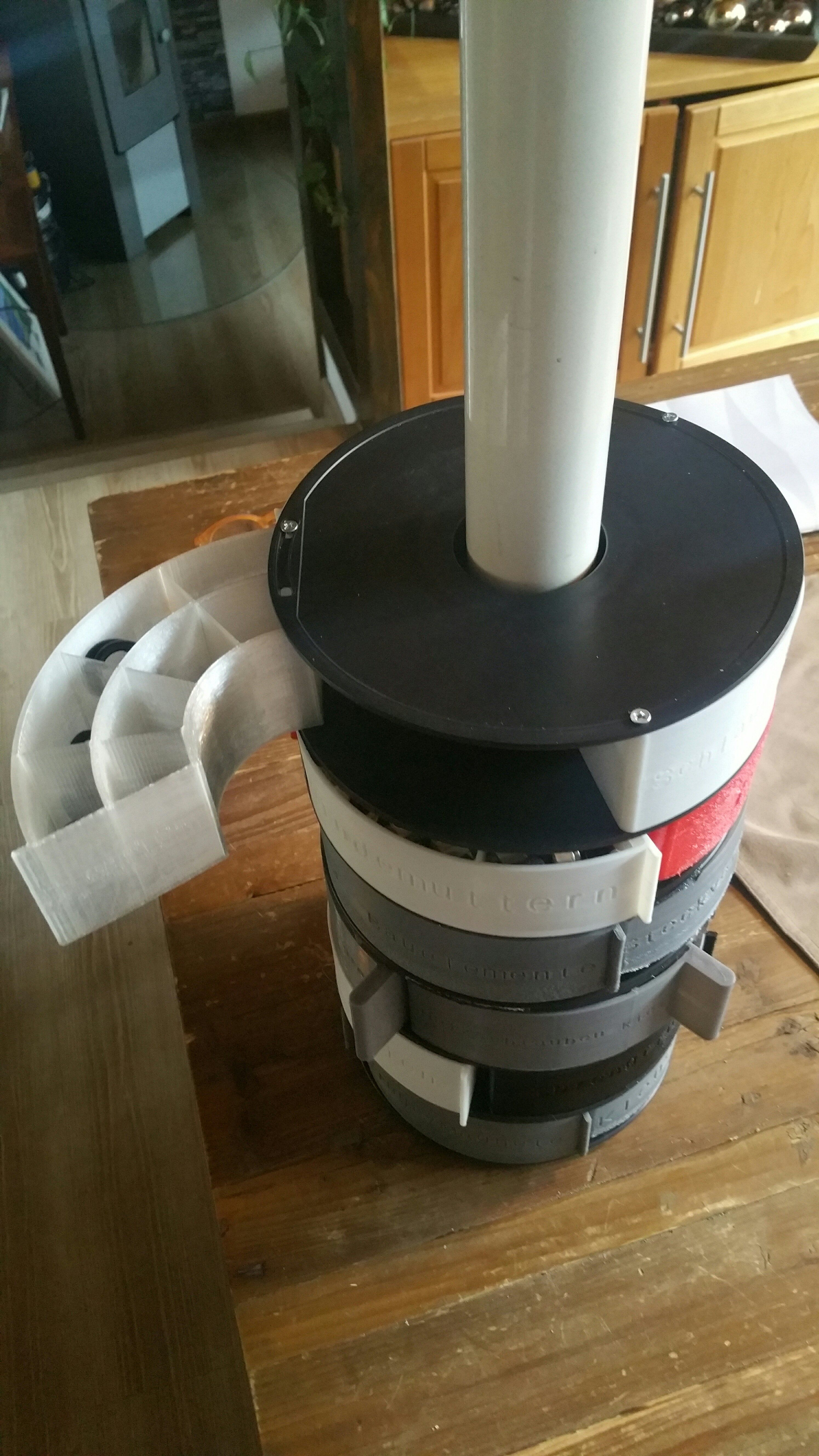 Sinnvolles Recycling von leeren Filamentspulen 3d
