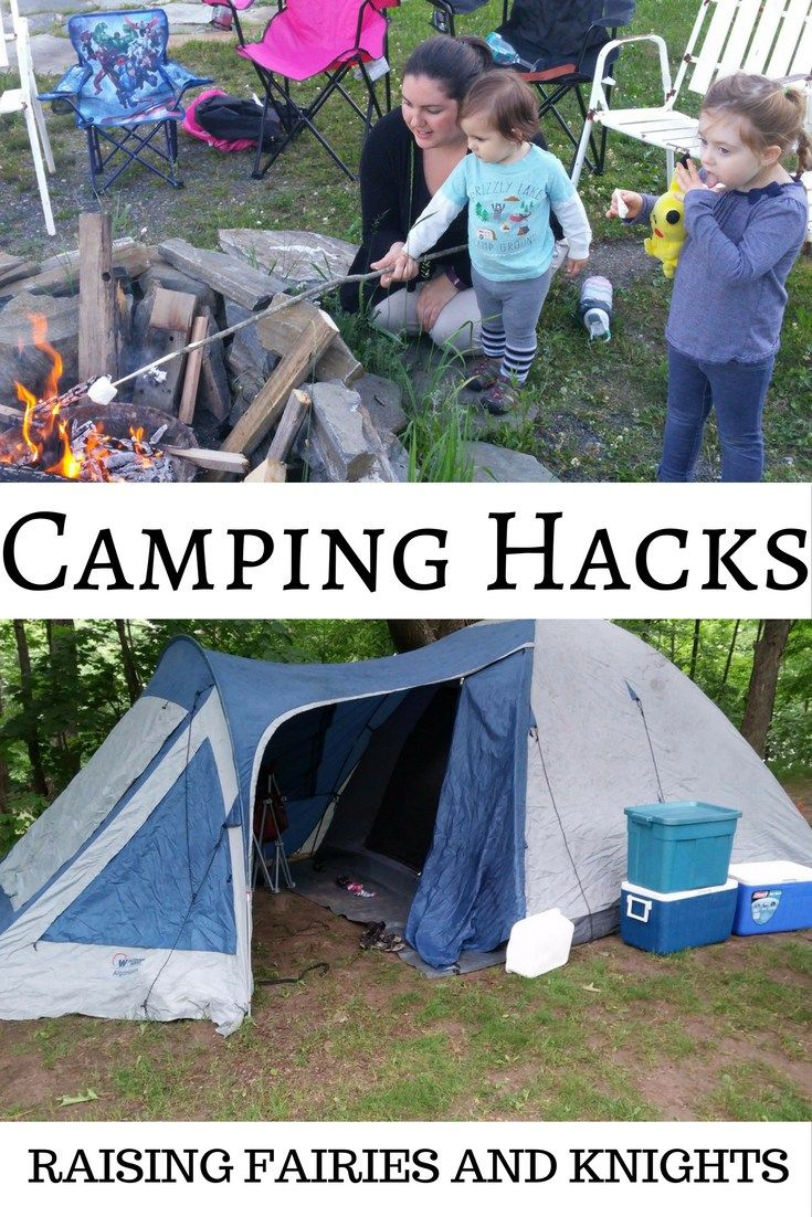 Camping Hacks - Going camping is so much fun! But ...