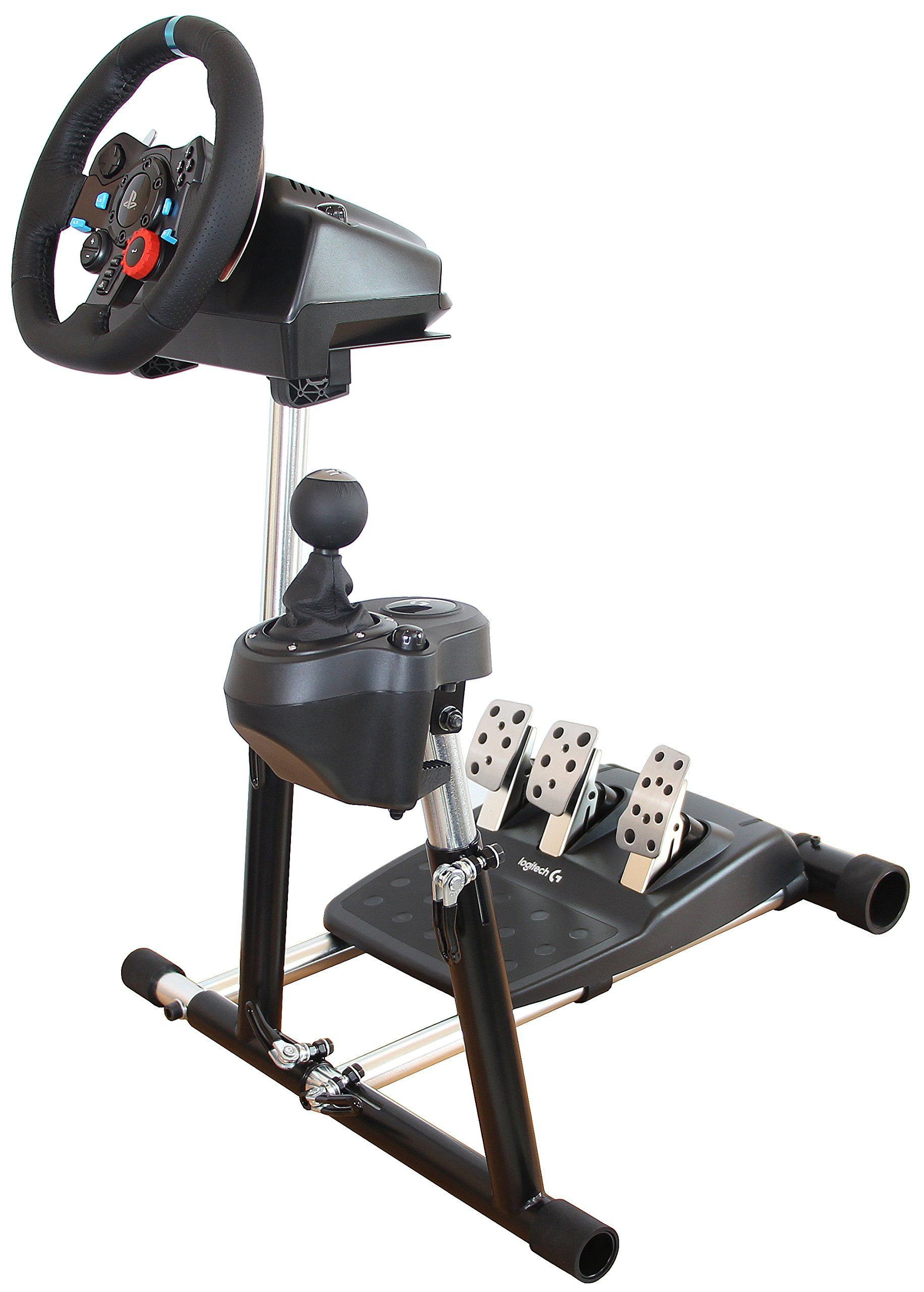 7dff12c2d4 SuperG Steering Wheel Stand with RGS shifter mount Logitech G29 ...