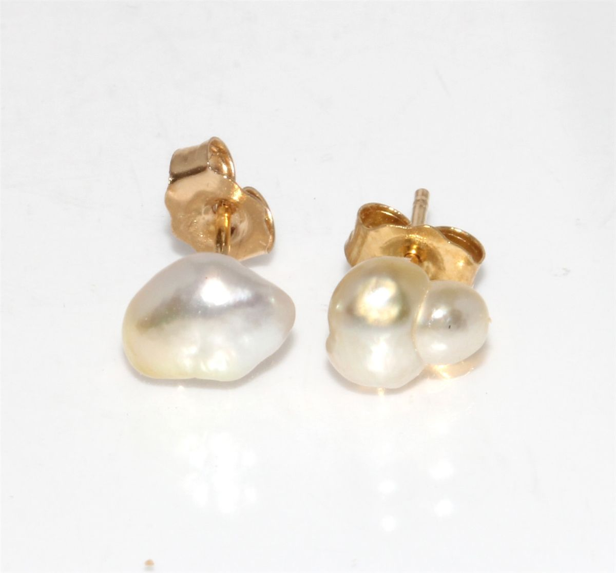 pearl pearls to earring own how earrings baroque lovely stud your of inspirational make