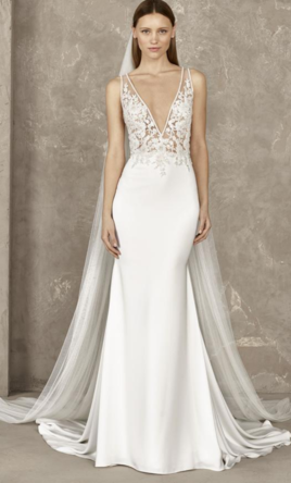 d08f32f56ce Pronovias Yari wedding dress currently for sale at 13% off retail.