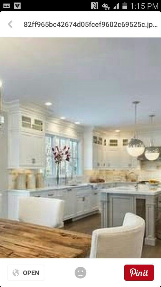 White tall kitchen cabinets with crown molding   Tall ...