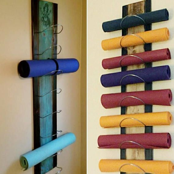 The 8 Tier Gradient Flow Yoga Mat Holder Is The Next Step
