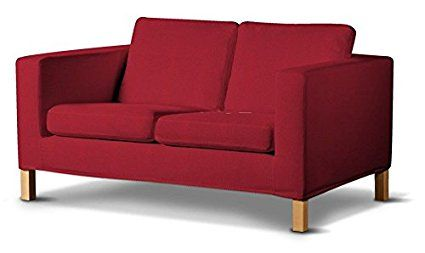 Ikea Slaapbank Karlanda.Dekoria Fire Retarding Ikea Karlanda 2 Seater Sofa Cover Red