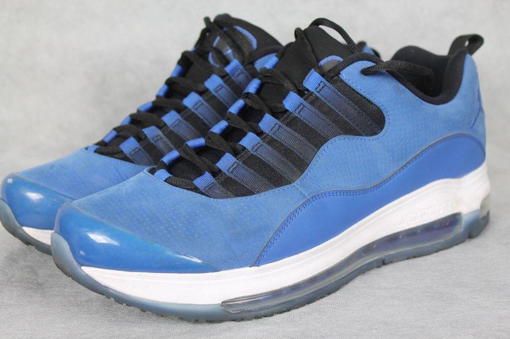 7b33787426c88c Nike Air Jordan CMFT Air Max 10 LTR Men s Candy Pack Royal Blue 442090-401  Sz 10  Nike  AthleticSneakers