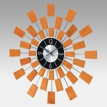 George Nelson Inspired Wooden Pixels Wall Clock - Photo (c) PriceGrabber