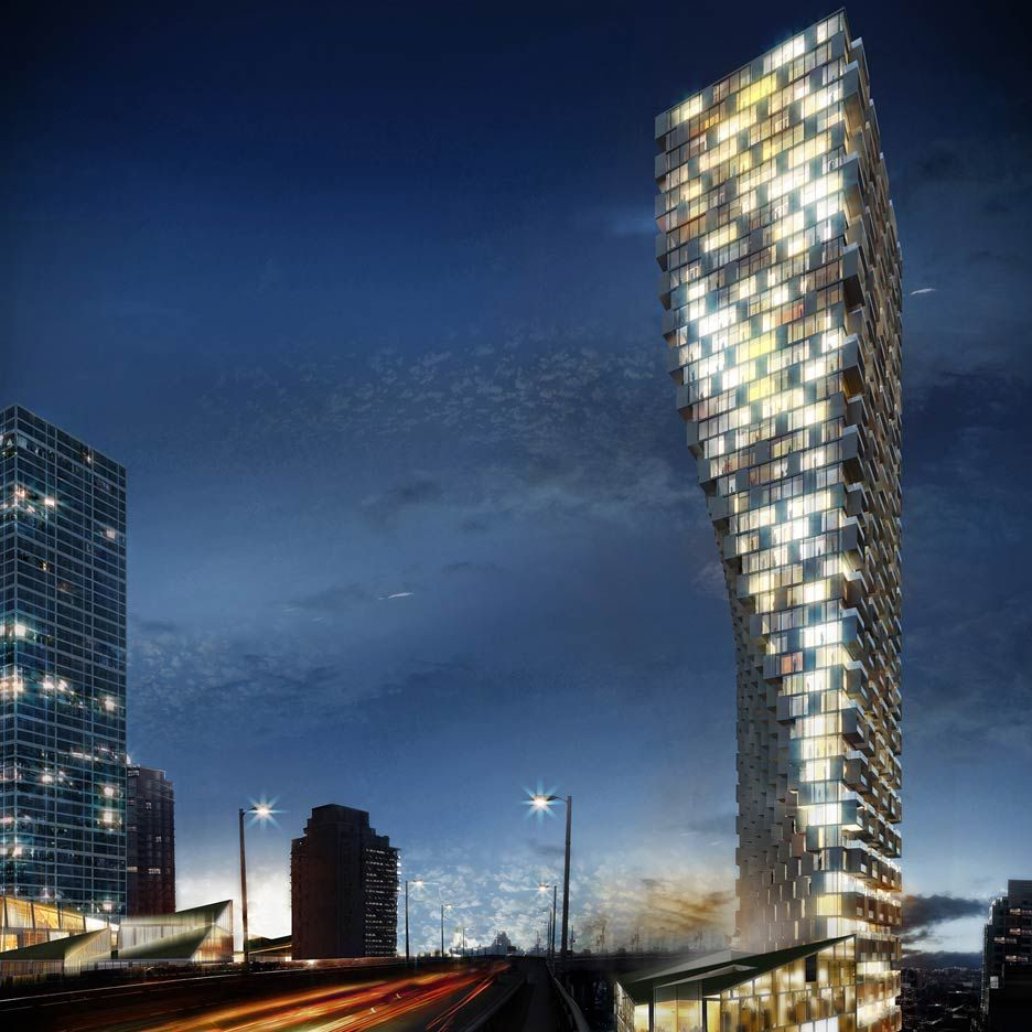 BIG's Twisted Vancouver Tower Named Future Project Of The
