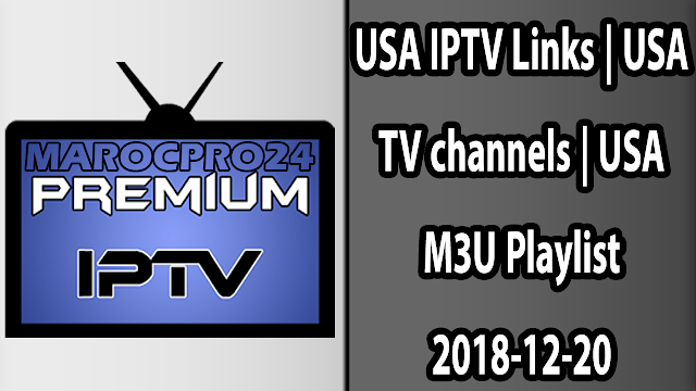 USA IPTV Links | USA TV channels | USA M3U Playlist 2018-12