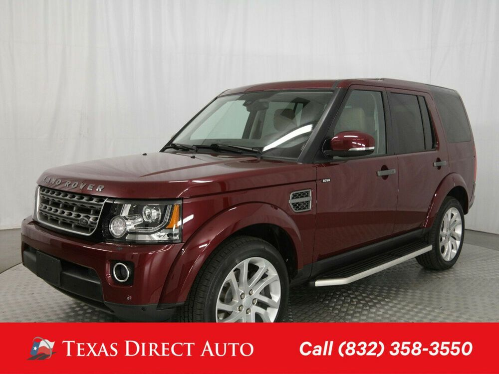 2016 Land Rover Lr4 Hse Texas Direct Auto 2016 Hse Used 3l V6 24v