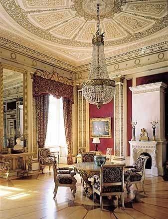 The Royal Palace, Interior........Norway .