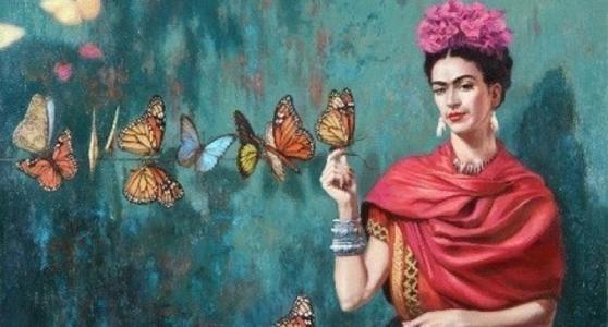 frases frida kahlo para portada de facebook buscar con google portada face kunst malerei. Black Bedroom Furniture Sets. Home Design Ideas