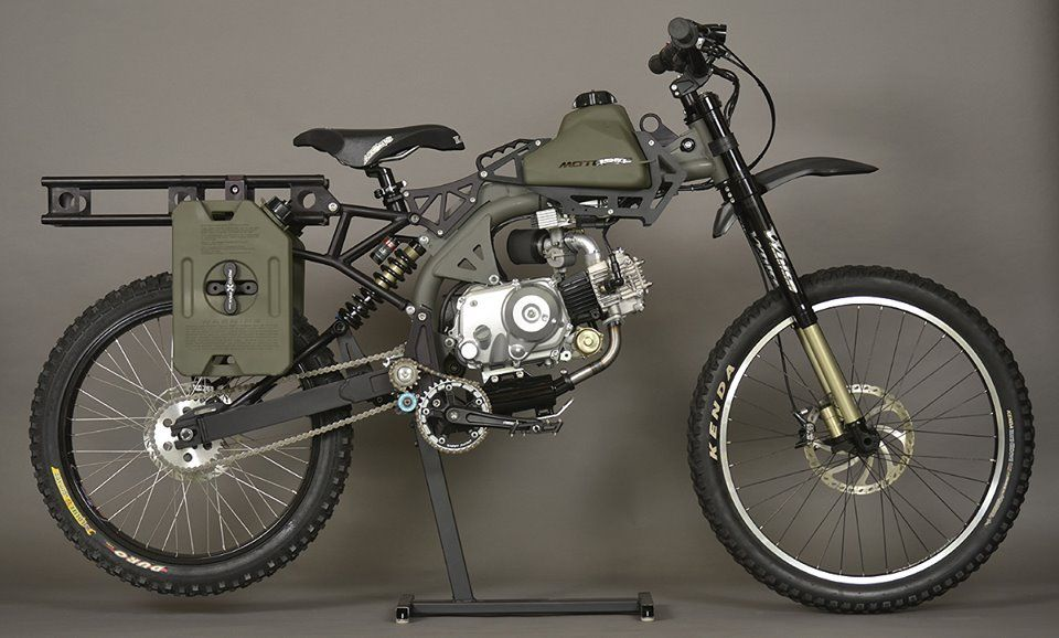 Gear Motopeds Survival Bike A K A The Apocacycle Moped Bug Out Vehicle Bike Gear
