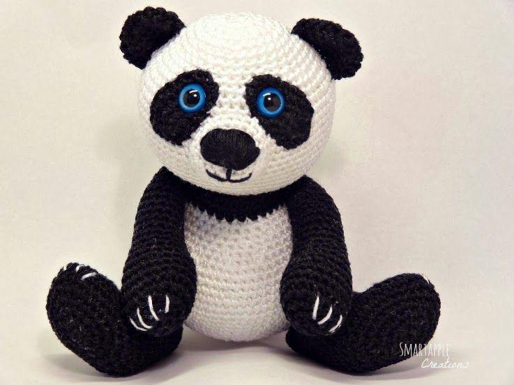 Amigurumi Oso Panda Patron : Amigurumi panda by smartapple creations my amigurumi designs