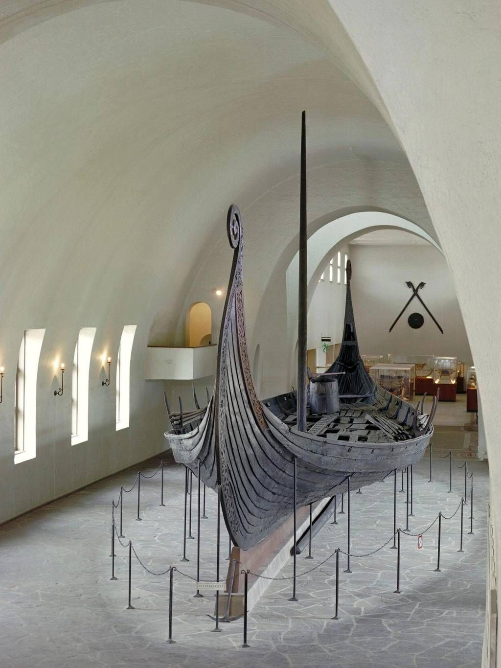 The Vikings - The Oseberg ship at the Museum of Cultural History in Oslo - Eirik Irgens Johnsen