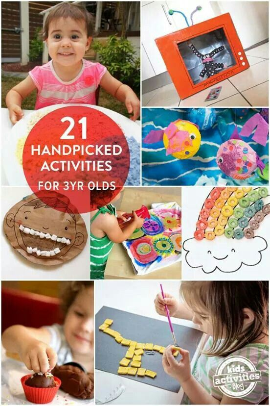 Activities for three year old  .