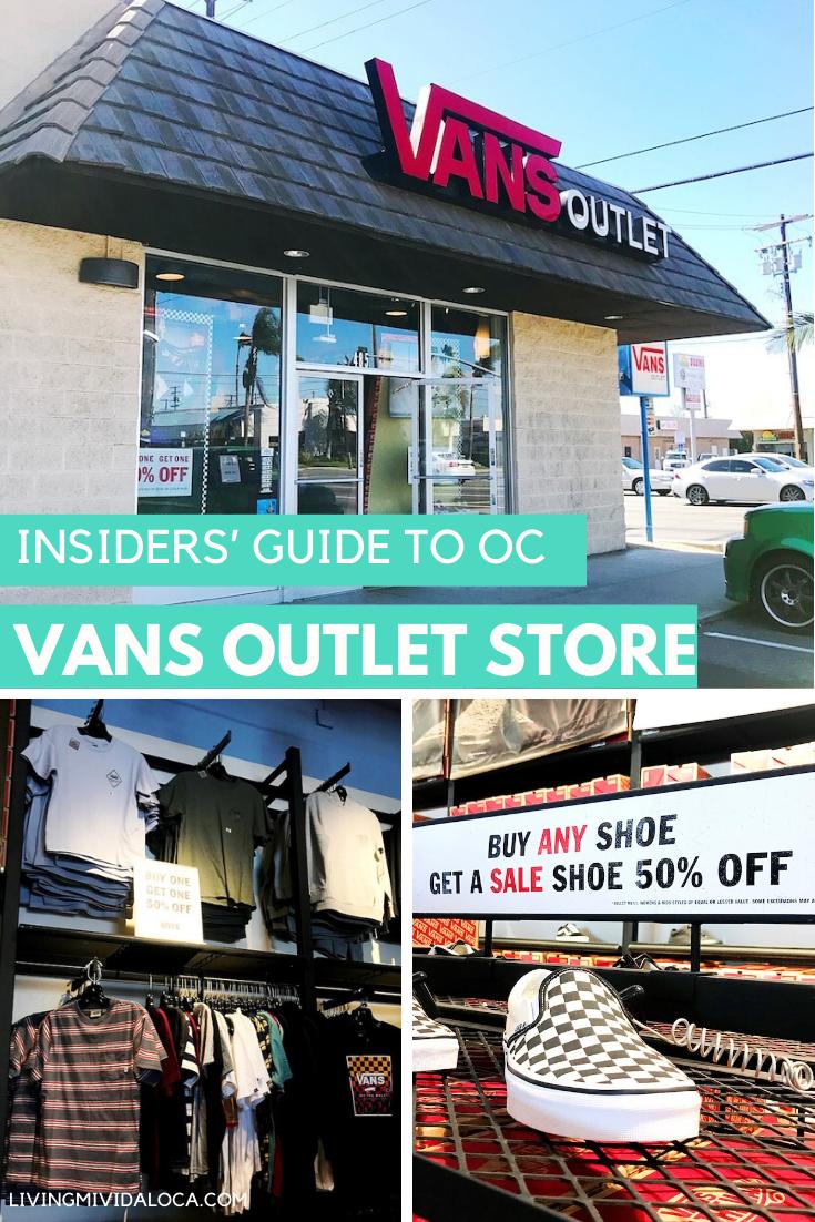 Orange County: Vans Outlet Store