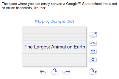 Create Flashcards From Google Spreadsheets Google Spreadsheet Flashcards Google Education