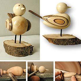 pajarillo woodturning torneados en madera pinterest. Black Bedroom Furniture Sets. Home Design Ideas
