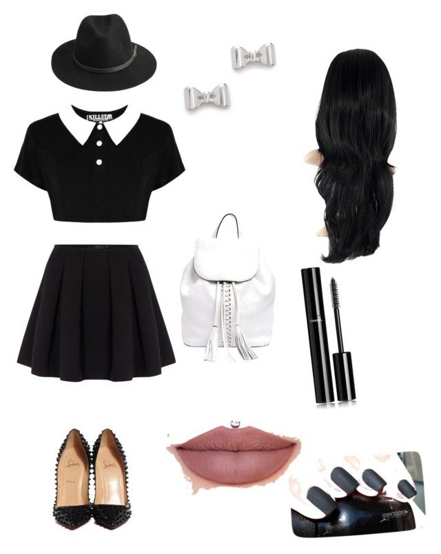 """""""Untitled #4"""" by ugnemiau on Polyvore featuring Polo Ralph Lauren, Christian Louboutin, Rebecca Minkoff, BeckSöndergaard, Marc by Marc Jacobs and Chanel"""