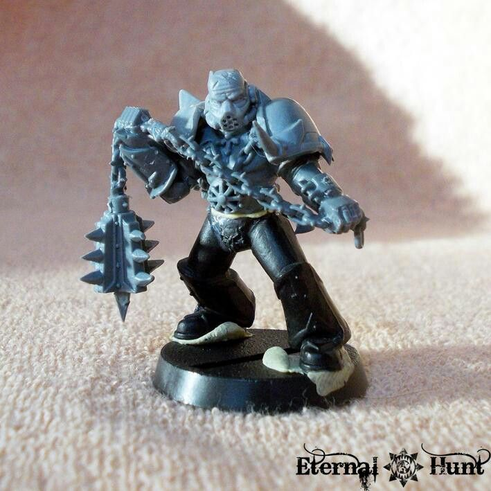Cool Chaos Space Marine Conversion
