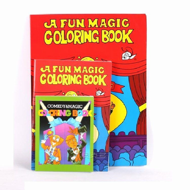 Coloring Book Magic Trick Luxury Aliexpress Buy Free Shipping Size Funny Funny Coloring Book Book Comedy Magic Tricks Book