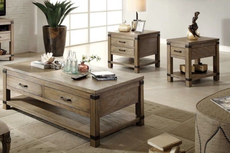 Rustic Coffee Tables That You Need To Have In Your Home Wood Coffee Table Rustic Coffee Table Rustic Coffee Table Sets Rustic living room table sets